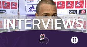 Interviews Anderlecht - Standard (Standard)