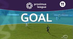 Goal: Lommel United 0 -2  Cercle Brugge : 90+2', Mobyo