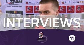 Interviews Lokeren - Anderlecht (Anderlecht)