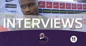 Interview Charleroi (FC Bruges - Charleroi)