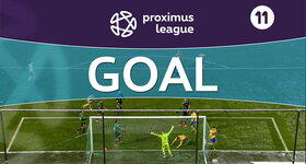 Goal: Cercle Bruges 0 - 1 Union Saint Gilloise: 65', Perdichizzi