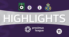 Cercle Bruges 0 - 1 Union Saint Gilloise