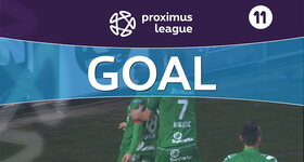 Goal: OH Louvain 0 - 1 Lommel United : 10', Scheelen, penalty