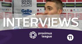 Interview Genk (Saint-Trond - Genk)