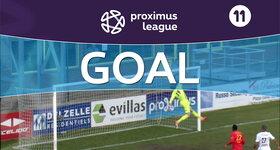 Goal: AFC Tubize 1 - 0 Roulers : 6', Laurent