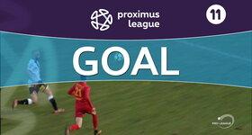 Goal: AFC Tubize 3 - 1 Roulers : 90'+1, Henri