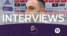 Interviews Zulte-Waregem (Anderlecht - Zulte-Waregem)