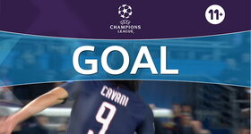 Goal: Paris SG 4 - 0 FC Barcelona : 71', Cavani
