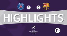 Paris SG - FC Barcelone