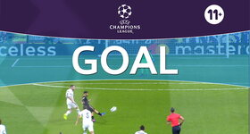 Goal: Real Madrid 0 - 1 Naples : 8', Insigne