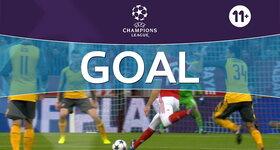 Goal: Bayern München 1 - 0 Arsenal : 11', Robben