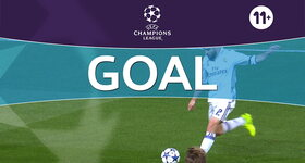 Goal: Real Madrid 1 - 1 Naples : 18', Benzema