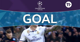 Goal: Real Madrid 2 - 1 Naples : 49', Kroos