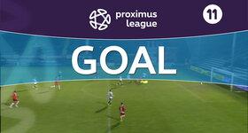 Goal: Roulers 0 - 1 Royal Antwerp : 26', Buyl