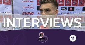 Interviews Genk (Genk - Charleroi)