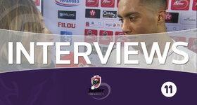 Interviews Anderlecht (Ostende - Anderlecht)