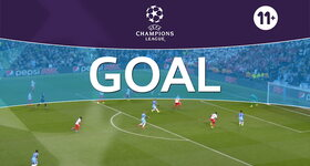 Goal: Manchester City 1 - 0 AS Monaco : 26', Sterling