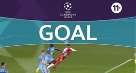 Goal: Manchester City 1 - 1 AS Monaco : 32', Falcao
