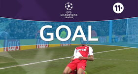 Goal: Manchester City 1 - 2 AS Monaco : 40', Mbappé