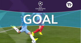 Goal: Manchester City 2 - 2 AS Monaco : 58', Aguero