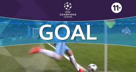 Goal: Manchester City 4 - 3 AS Monaco : 77', Stones