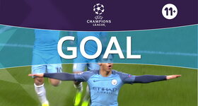 Goal: Manchester City 5 - 3 AS Monaco : 82', Sané