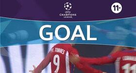Goal: Bayer Leverkusen 2 - 4 Atlético Madrid : 86', Torres