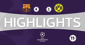 Youth League : FC Barcelona 4 - 1 Borussia Dortmund