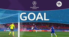Goal: FC Sevilla 1 - 0 Leicester : 25', Sarabia