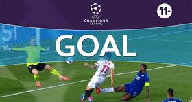 Goal: FC Sevilla 2 - 0 Leicester : 62', Correa