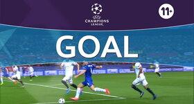 Goal: FC Sevilla 2 - 1 Leicester : 73', Vardy