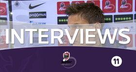 Interviews FC Bruges - Zulte-Waregem (FC Bruges)