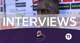 Interviews FC Bruges - Zulte-Waregem (Zulte-Waregem)