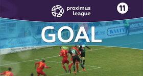 Goal: AFC Tubize 0 - 1 Cercle Bruges : 5', Diarra
