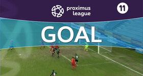 Goal: AFC Tubize 1 - 1 Cercle Bruges : 34', Diallo