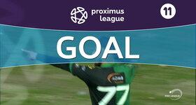 Goal: AFC Tubize 1 - 2 Cercle Bruges : 82', Yagan
