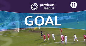 Goal: Royal Antwerp 1 - 0 Lommel United : 90', Hairemans, penalty