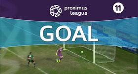 Goal: AFC Tubize 1 -3 Cercle Bruges : 90'+2, Naudts