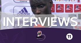 Interviews RSC Anderlecht (RSC Anderlecht - KRC Genk)