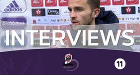Interviews KRC Genk (RSC Anderlecht - KRC Genk)