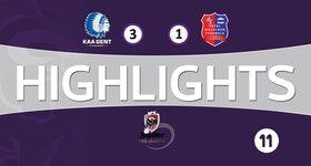 KAA Gent 3 - 1 Moeskroen