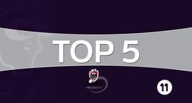 Jupiler Pro League - Top 5 (journée 28)