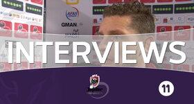 Interviews Malines - Anderlecht (Malines)