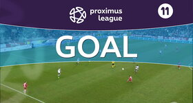 Goal: Royal Antwerp 1 - 0 Roulers, 35' DEQUEVY