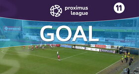Own Goal: Royal Antwerp 2 - 0 Roulers, 57' DAMMAN