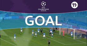 Goal: Naples 1 - 1 Real Madrid : 51', Ramos