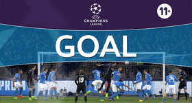 Goal: Naples 1 - 2 Real Madrid : 57', Ramos