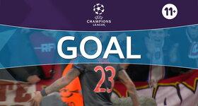 Goal: Arsenal 1 - 4 Bayern Munich : 80', Vidal