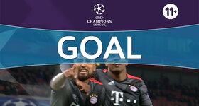 Goal: Arsenal 1 - 5 Bayern Munich : 85', Vidal