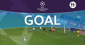 Goal: Naples 1 - 3 Real Madrid : 90'+1, Morata